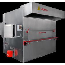 Люлечная печь «ПОИСК-120» газ/дизель